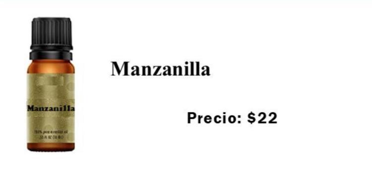 Esencia de manzanilla