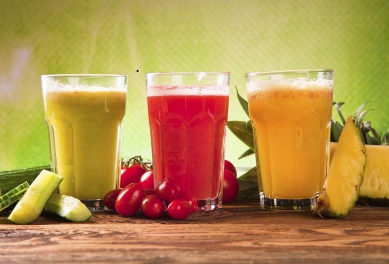 Bebidas naturales para la concentración